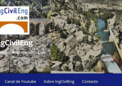 IngCivilEng. Un blog sobre ingeniería civil